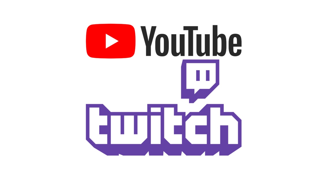 Twitch och Youtube, giganternas kamp