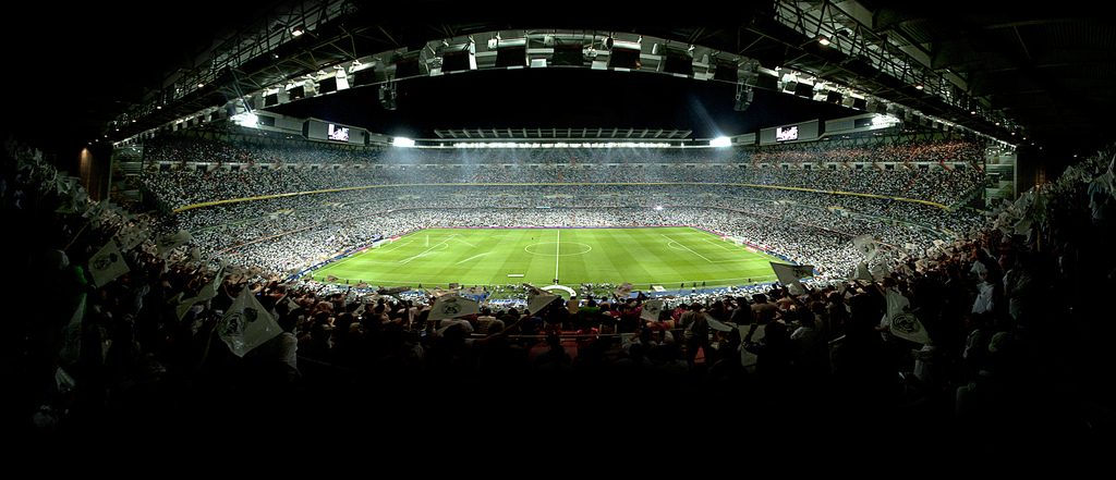 Real Madrid – Esportarena i Bernabeu