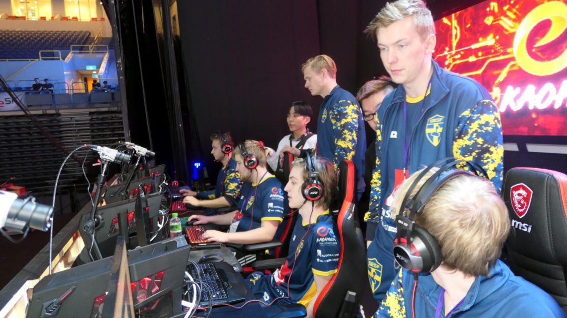 Esport-VM – Blandade resultat för Sverige