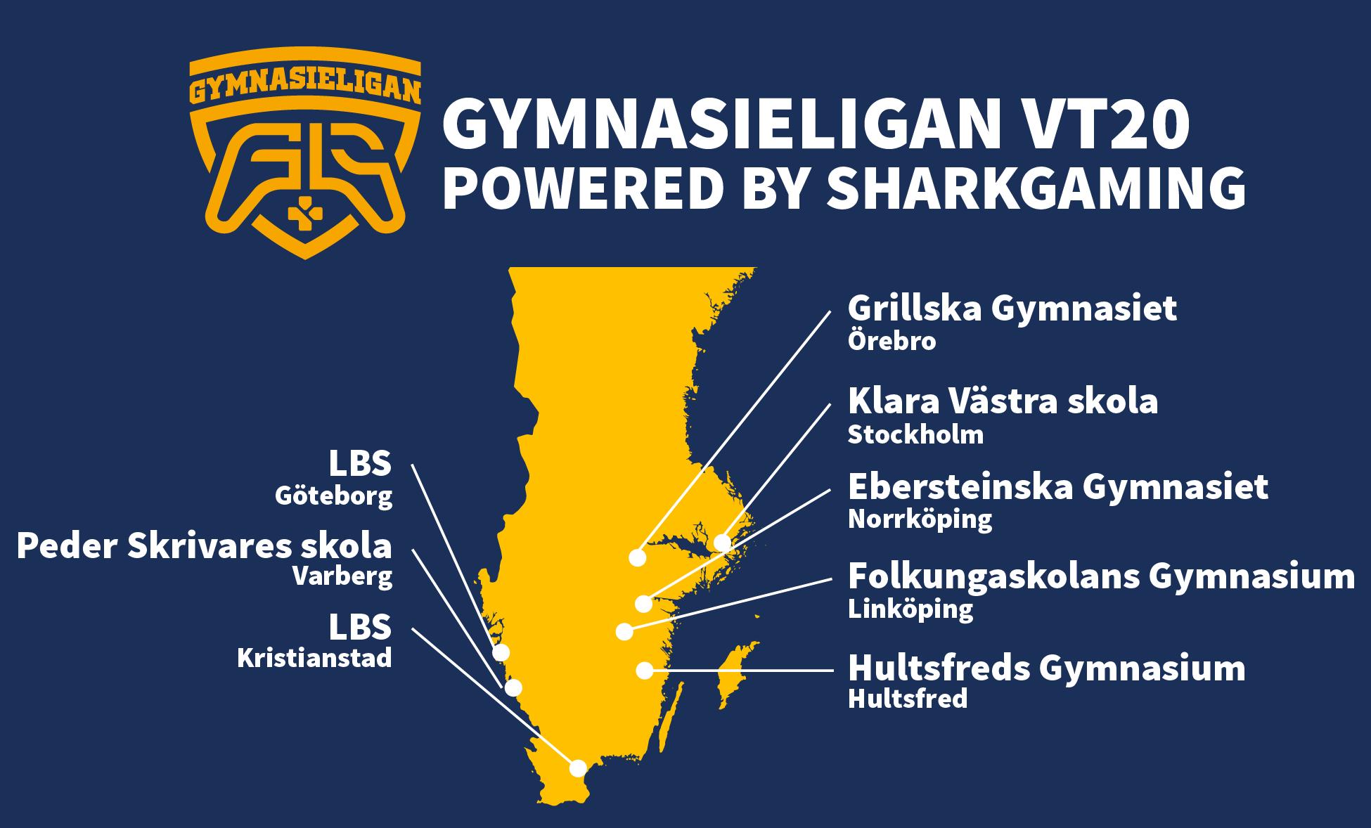 gymnasieligan vt20 LBS Göteborg